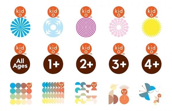 2 × 4: Project: Kid-O #logo #system #identity