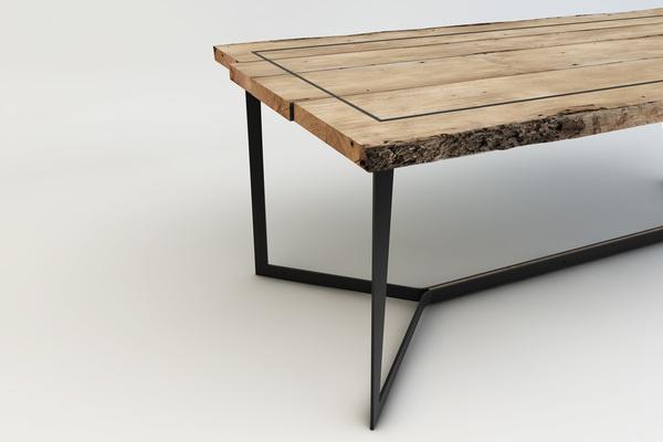 2013 Quadro Table Skeletal #interior #design #decor #home #furniture #architecture