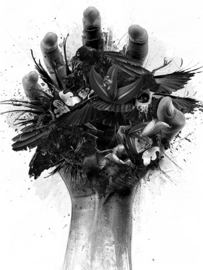 LETSLOVEART - Live. Create. Inspire., http://www.designbyhumans.com/shop/detail/6462 #illustration #hand #shirt