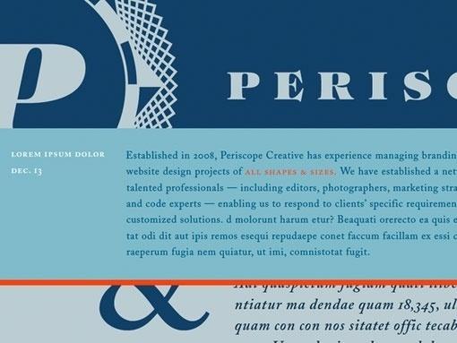 design work life » Darrin Crescenzi: Periscope Branding #logotype #identity #branding