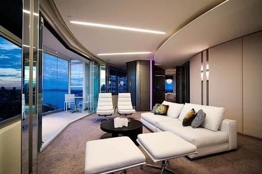 Modern Apartment Interior Design in Warm And Glamour Style | DigsDigs #modern #harding #design #stanic #apartment