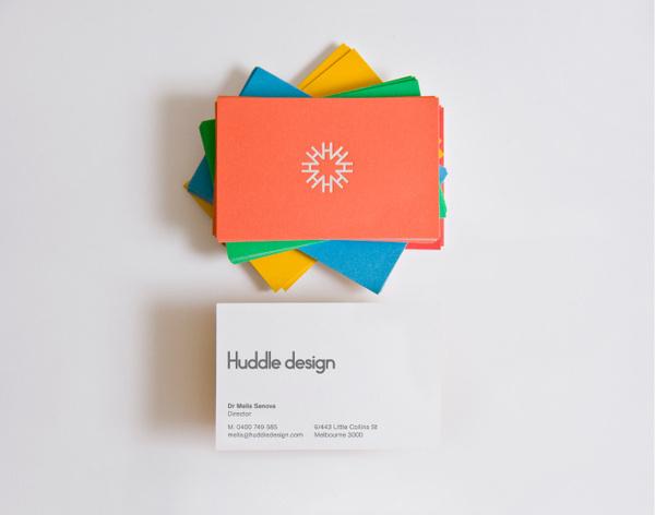 Huddle Design Business Card