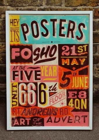 FFFFOUND! | POSTERS SIGN | Telegramme #sign #posters