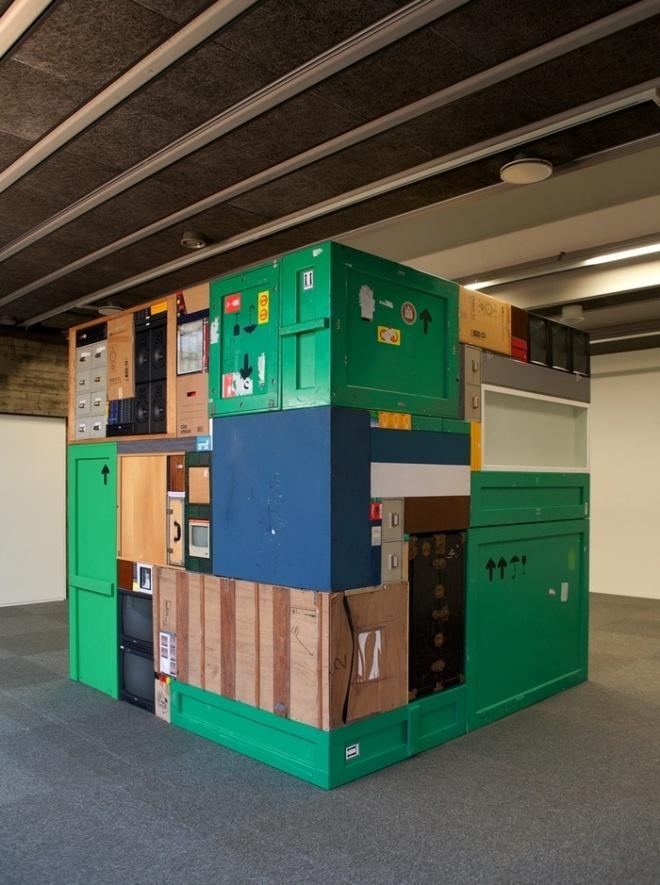 Tetris Sculptures #objects #sculpture #tetris #tessellation #square #tesselate #cube