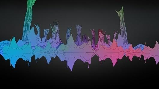 BBC Electric Proms 2007 – Synthetic Illustration – Thomas Traum #illustration