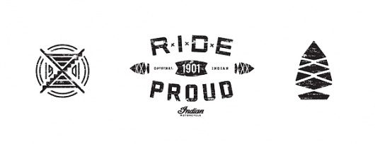 Indian Motorcycle - Brand Campaign Concept #branding #icon #motorcycles #indian #distressed #soulek #logo #sam