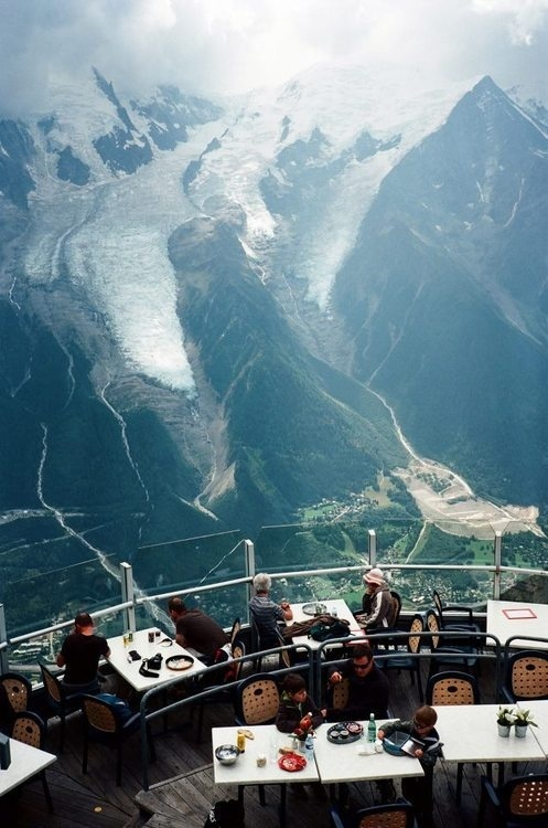 """CJWHO ™ (Unobstructed view of the Mont Blanc at """"Le...) #design #landscape #mont #architecture #view #blanc"""
