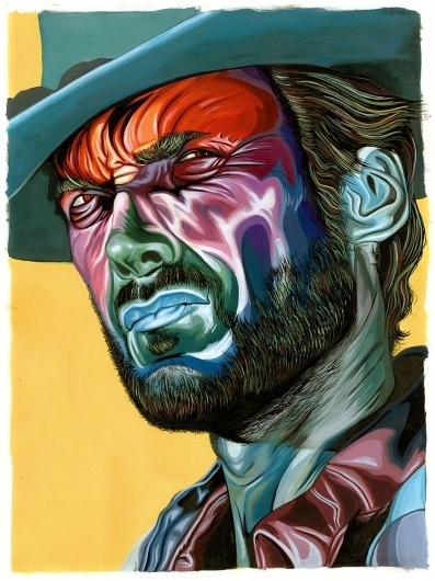 Carty Sewill « These Old Colors™ #acrylic #eastwood #clint #painting