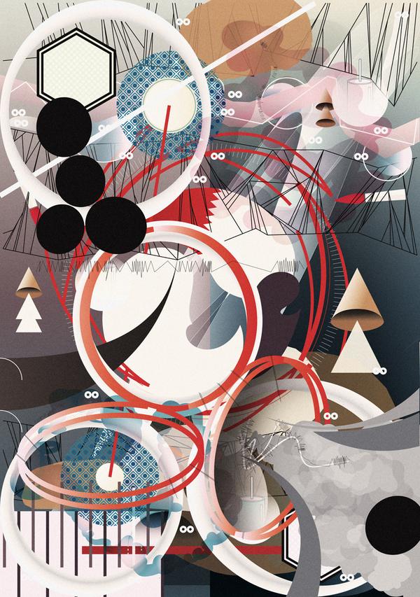 Presuppose 1 #abstract #edvard #me #exhibition #illustration #up #scott #pick