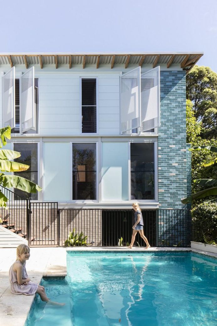 Old Weatherboard House in Sydney Gets Modern Addition 1