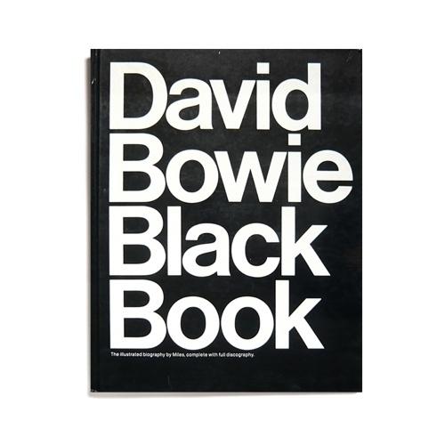 Merde! - kentson: Book design (David Bowie Black Book)Â #design #graphic #typography