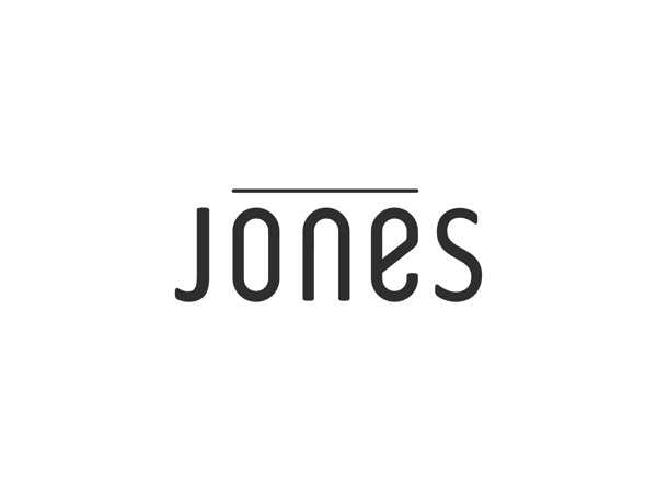 LOGOS #logo #jones #san serif #one #simpel