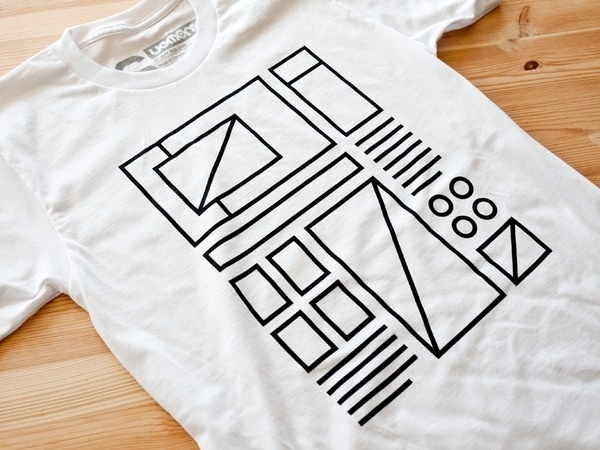 Wireframe Tee by Ugmonk
