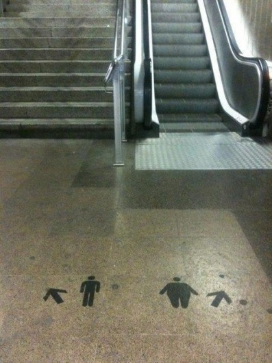 "Street Art At Its Best: ""Take The Stairs"" 