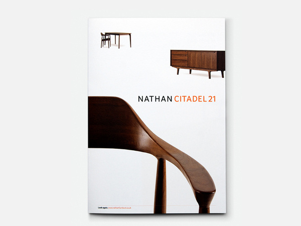 Nathan furniture brochure cover