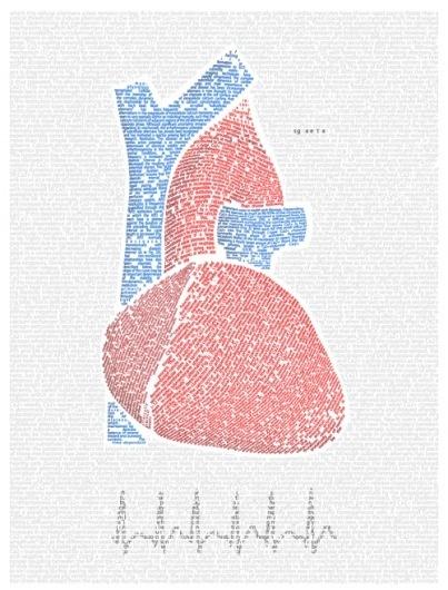 CMYBacon #heart #typography