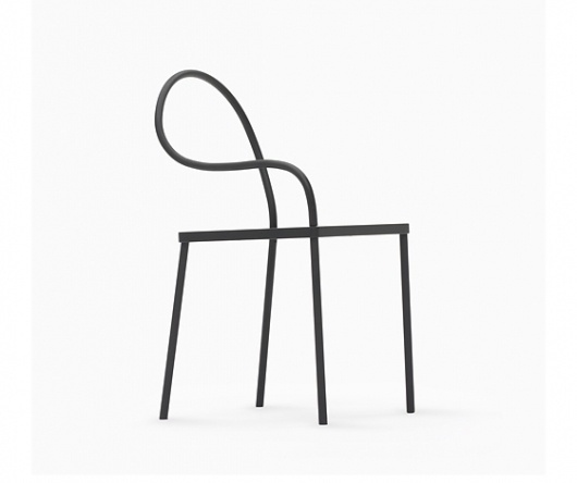 Milan 2012: 'K%: black & black collection' by Nendo (JP) @ Dailytonic #melt #collection #chair #blackblack #coat #powder #nendo