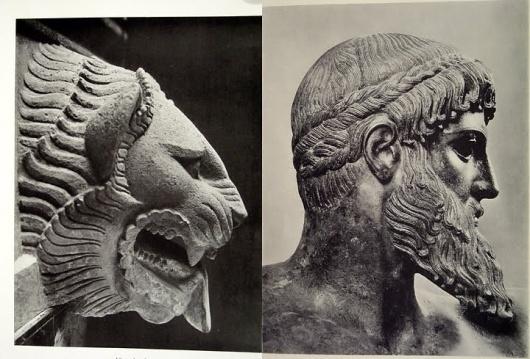 Dan Bina, Lion v Man #bina #lion #dan #photography #art #man #collage