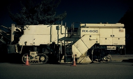Asphalt_Machine | Flickr - Photo Sharing! #asphalt #photography #machine #road