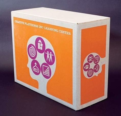 Creative Learning Center Package, Designed by Carlos Ramirez 1962 #packaging #carlos #ramirez