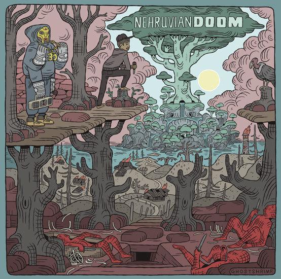 GHOSTSHRIMP: THE PRESENT #cover #doom #album