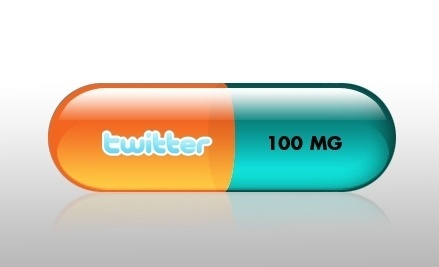 joshuamurphy.com — 100MG of Twitter Daily Design by: Joshua Murphy#illustration