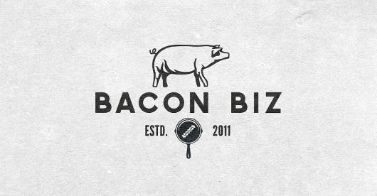 Riley Cran | Bacon Biz #logo #yum #bacon