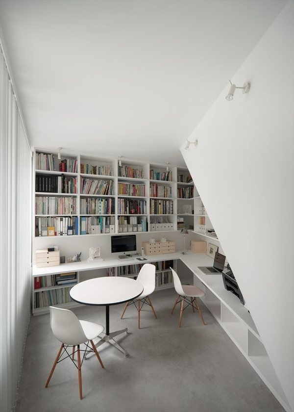 Workspace #interior #white #design #decor #workspace