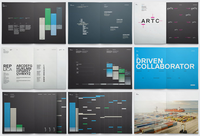 New Logo and Identity for ARTC by Moon #branding