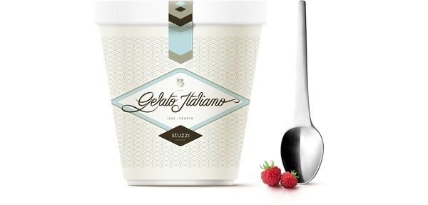 Gelato Stuzzi #packaging #gourmet #icecream #gelato