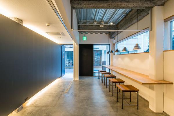 fuminori maemi architect office renovates cafe634 in tokyo #space