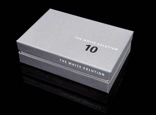 El Studio   The White Solution : Print, Packaging, Online #packaging #clean #minimal #type #minimalist