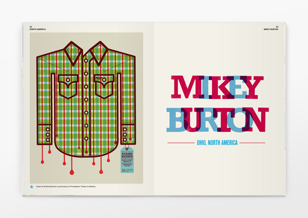 Six Pockets Magazine #geometry #colours #publication #spread #editorial #magazine