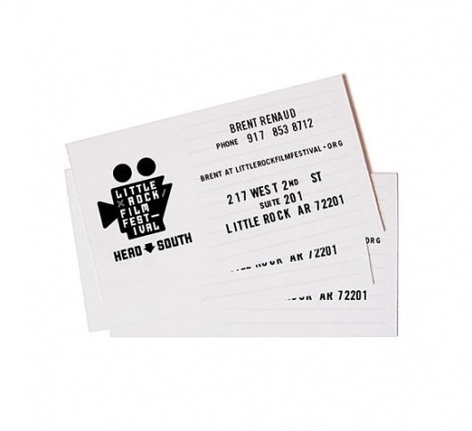 Little Fury :: Little Rock Film Festival #card #business