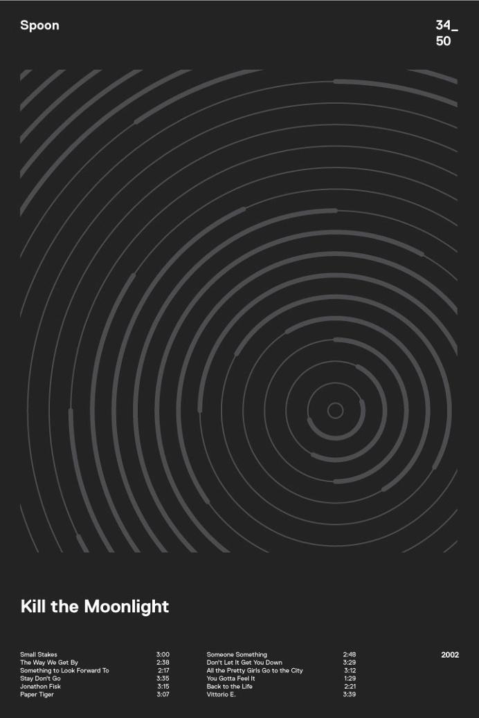 swissritual.ca #swissritual #graphic #design #minimal #music #grid #poster #swiss #illustration #Spoon