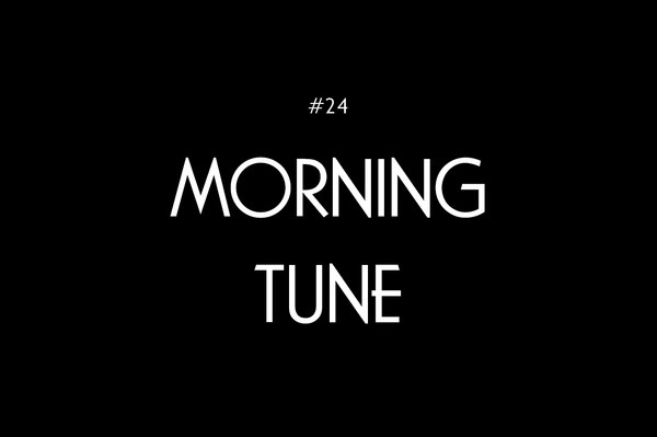 Logo - Morning Tune #font #card #poster #music #logo #typography