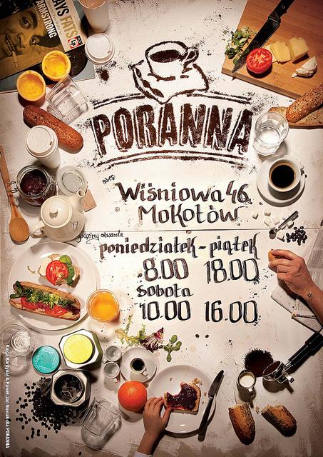 PORANNA cafe by Paweł Jan Nowak #inspiration #lettering #typography