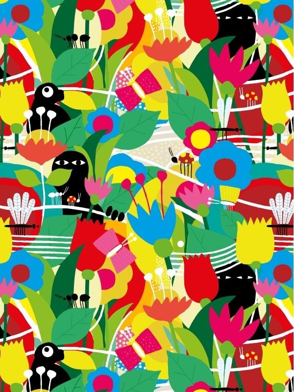 PUF!™ Festival - Brand Identity #pattern #festival #print #brand #colorful #identity #puf