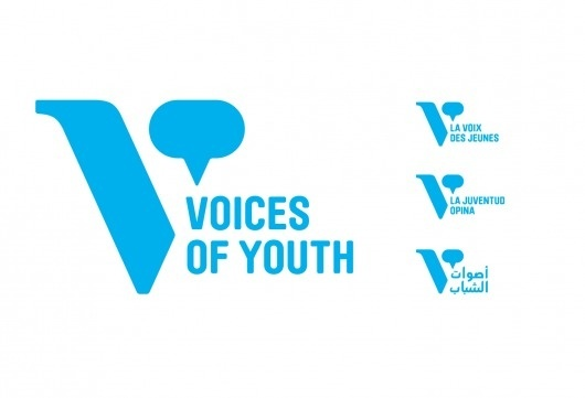 Hyperakt » Work » UNICEF » Voices of Youth #logo #identity