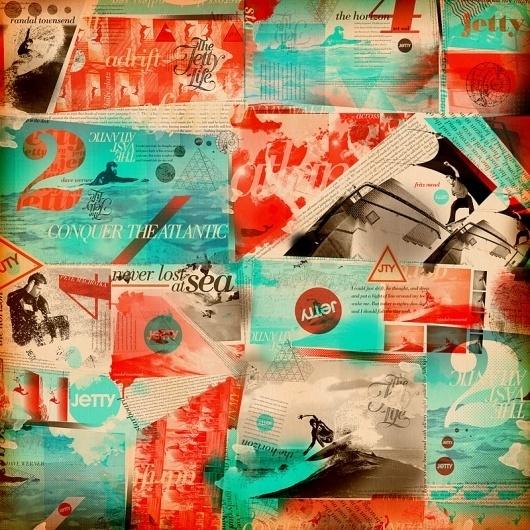 Clifford Design / Illustration / Photography - Home #pop #surfing #design #graphic #wallpaper