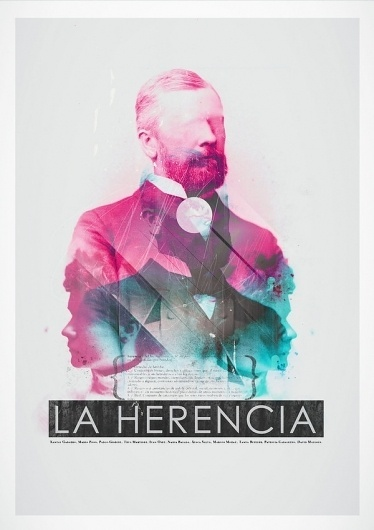 La Herencia on the Behance Network #design #graphic #poster