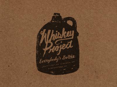 Whiskey Project #whiskey #lettering #letterpress