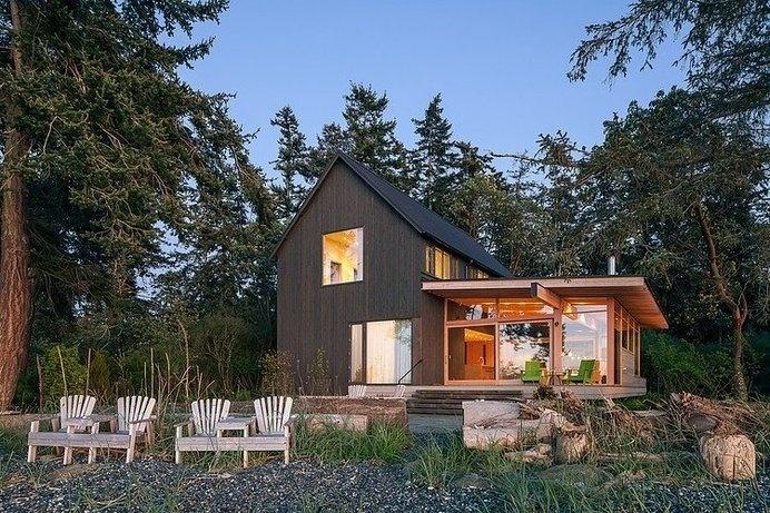 Timeless Architecture in Washington, USA: Orcas Island Retreat