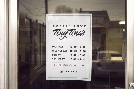 Chris Glass - The Sign in my Barber's Window #chris #script #sign #serif #design #sans #glass #photography #typography