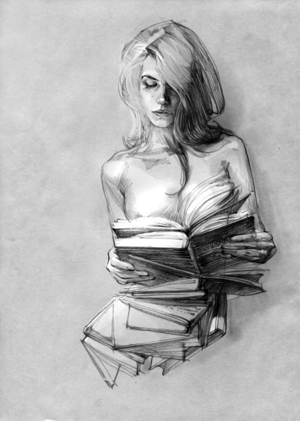2 #zhang #weber #digital #illustration #pencil #sketch