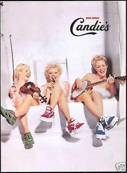 Doces Calçados Música Country Dixie Chicks Tub (1999)
