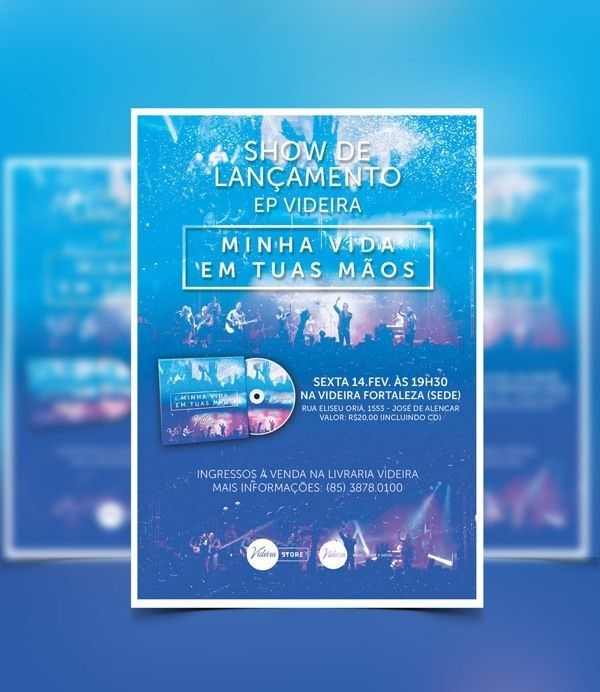 Flyers 2014 by Levi Leal, via Behance #flyer #levileal #designer