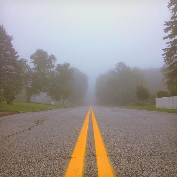 Port City Supply Co. #fog #photo #misty #duluth #photography #nature #trees