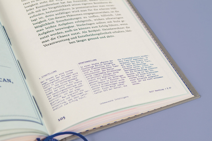 #lexicon #unconscious #grey #book #editorial #screenprint #blue #typography #illustration #infographic