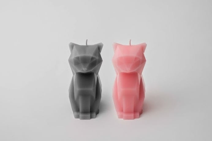 kitty candles #cat #candles #design #industrial